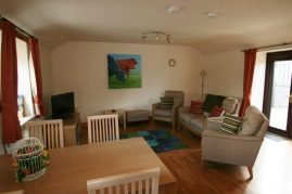 Dairy Cottage living room