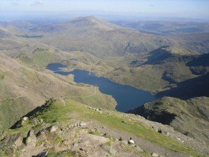 Top of Snowdon - view