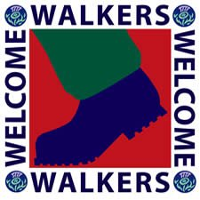 Walkers are welcome to stay with us